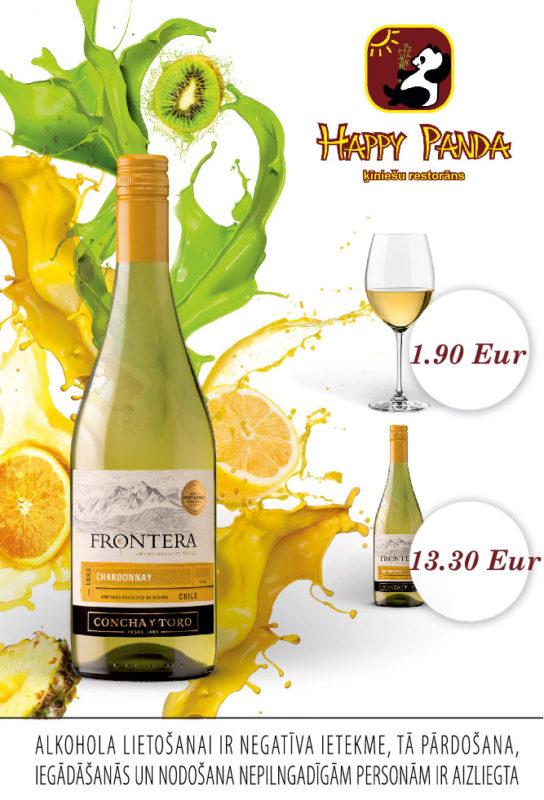 Baltvīns Frontera Chardonnay