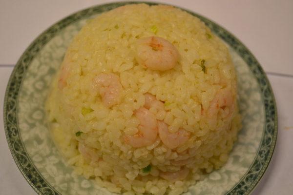 Cepti rīsi ar garnelēm