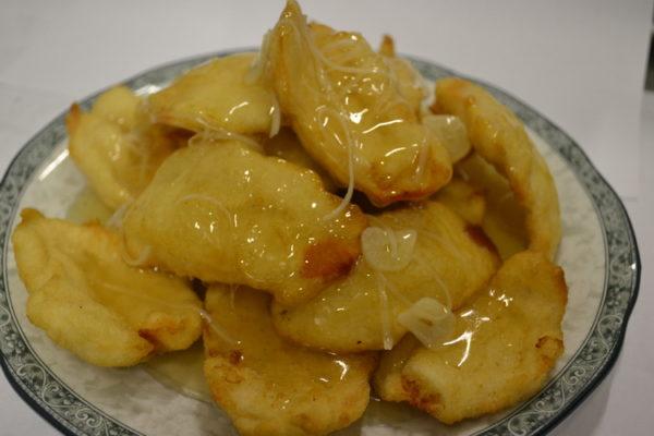 """Vista """"Guo bao"""" ingvera saldskābā mērcē"""
