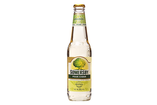 SOMERSBY pear cider 0.33l