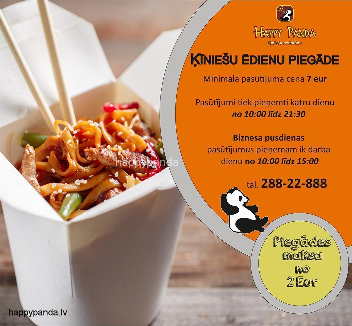 Ķīniešu ēdienu piegāde