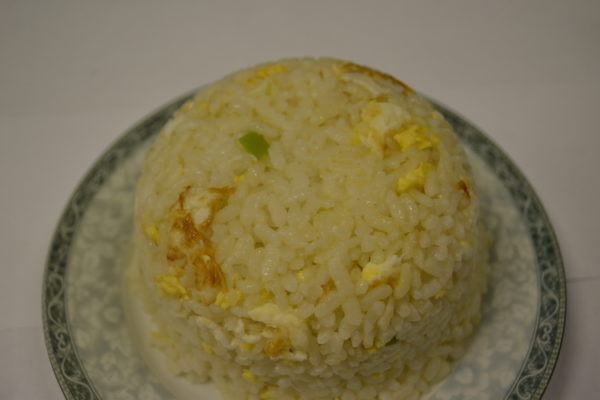 Roasted rice with egg