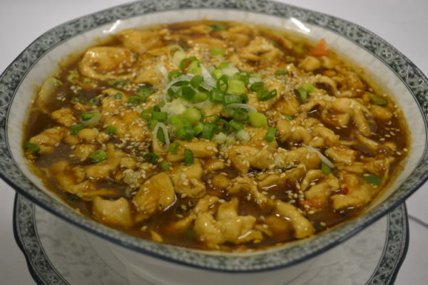 "Chicken ""Shuizu"" in sour soy sauce"