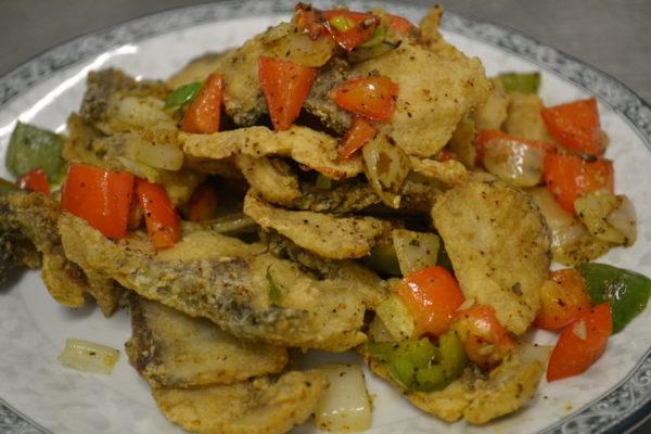 "Spicy crunchy carp ""Gan Shao"""