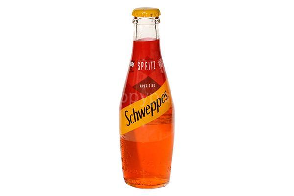 "NEW !  Schweppes Spritz ""Aperitivo"""